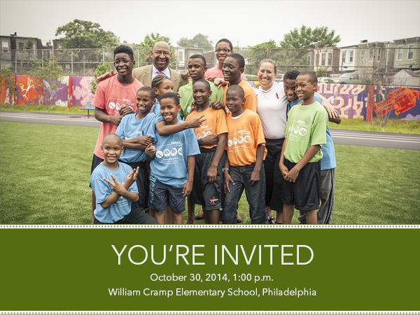 Join us for the playground design unveiling